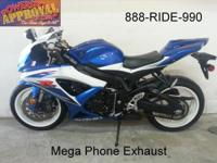 2009 Suzuki GSXR600 Crotch Rocket for sale with only