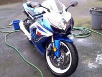 2009 Suzuki GSXR600 Sportbike Only one owner 1000k