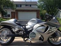 Up for sale is my 2009 Hayabusa turbo. Presently