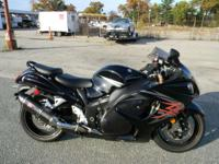 2009 Suzuki Hayabusa BLACK AND GRAY ONLY 11009 MILES
