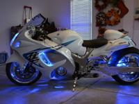 This is a 2009 Suzuki Hayabusa.7091 miles.I bought the