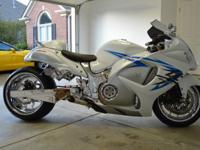 This is a 2009 Suzuki Hayabusa.7091 miles. I bought the