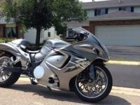 2009 Hayabusa turbo. Presently sitting on 12k miles. I