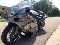 2009 Hayabusa turbo. Currently sitting on 12k miles. I
