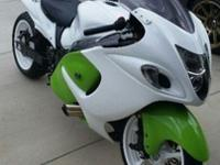 up for auction is my 2009 turbo hayabusa. i just