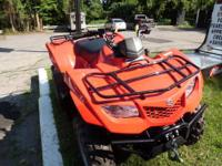 WINCH INCLUDED... RUNS MINT.. The KingQuad400 4x4