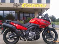 I currently have a 2009 Suzuki Vstrom 650 for sale.