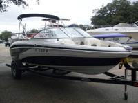 2009 Tahoe Q5i Fish & Ski, 4.3 Litre Mercruiser, New