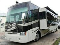 Here is an awesome 2009 Tiffin Phaeton 42 QBH coach!