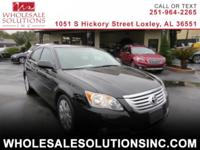 Prepare to be impressed with our 2009 Toyota Avalon XL.