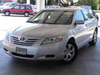 Camry LE, 4D Sedan, 2.4L I4 SMPI DOHC, 5-Speed