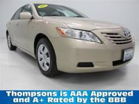 2009 Toyota Camry LE Sedan......Powered By The