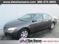 CLEAN CARFAX. Camry LE, ABS brakes, Illuminated entry,
