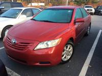 Barcelona Red Metallic 2009 Toyota Camry LE FWD 5-Speed