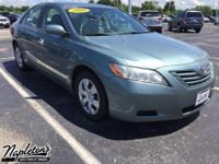 Recent Arrival! 2009 Toyota Camry in Green. CARFAX
