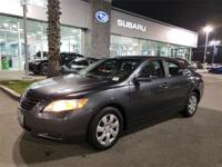 Options:  2009 Toyota Camry Le|Gray|Clean Carfax.