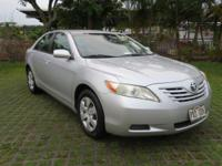 Silver 2009 Toyota Camry FWD 5-Speed 2.4L I4 SMPI DOHC
