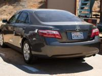 Make: Toyota. Model: Camry XLE. Year: 2009.