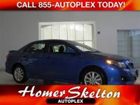 Corolla S, 4-Speed Automatic, **CLEAN VEHICLE HISTORY