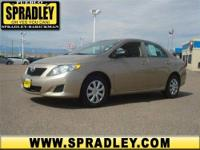 WOW! This is one hot offer! This 2009 Toyota Corolla