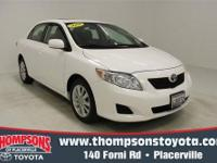 This *2009 Toyota Corolla XLE* is priced to sell fast!