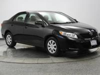 This 2009 Toyota Corolla is priced to move fast! This