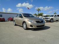 2009 Toyota Corolla with Automatic Transmission, Power