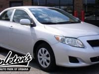 Recent Arrival! 2009 Toyota Corolla in Silver, LOCAL