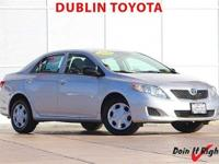 Dublin Toyota is pleased to offer this 2009 Toyota