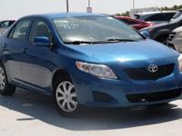 2009 Toyota Corolla LE Blue Streak Metallic *CLEAN