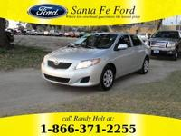 2009 Toyota Corolla Gainesville FL  near Lake City,