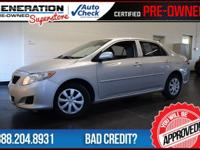 2009 Toyota Corolla. Car buying made easy! STOP! Read