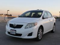 Options:  2009 Toyota Corolla Le 4Dr Sedan