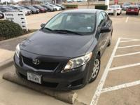 Recent Arrival! 2009 Toyota CorollaCARFAX One-Owner.