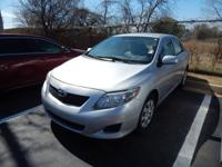 We are excited to offer this 2009 Toyota Corolla. When