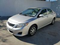 NON-SMOKER!, CLEAN CARFAX!, And OIL CHANGED. Corolla
