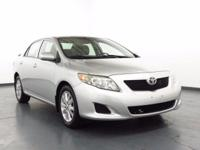 2009 Toyota Corolla 128 POINT INSPECTION, AUX/USB PORT,