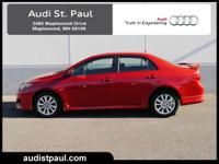 **RECENT AUDI OF ST. PAUL TRADE**, **EXCELLENT