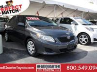 Check out this impressive 2009 Toyota Corolla . Trunk