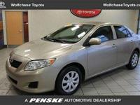 2009 TOYOTA Corolla SEDAN 4 DOOR 4dr Sdn Auto LE Our