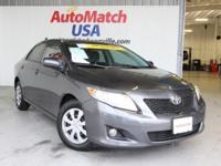 2009 Toyota Corolla Sedan LE Our Location is: AutoMatch