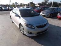 2009 Toyota Corolla Sedan S Our Location is: Sunbelt