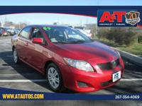 CARFAX One-Owner. Barcelona Red Metallic 2009 Toyota
