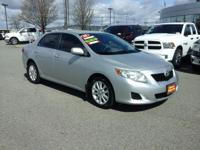 Check out this gently-used 2009 Toyota Corolla we