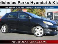 2009 Toyota Matrix S Recent Arrival! AM/FM CD/MP3 w/6