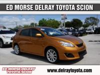 This outstanding example of a 2009 Toyota Matrix XRS is