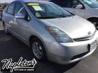 Recent Arrival! 2009 Toyota Prius in Silver, SINGLE