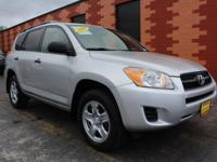 Safe and reliable, this Used 2009 Toyota RAV4 Base I4
