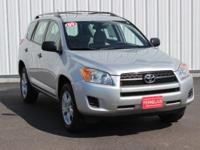 Options:  2009 Toyota Rav4 Base|Silver|4Wd|Cloth. 27/21