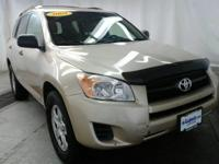 Tan 2009 Toyota RAV4 FWD 4-Speed Automatic 2.5L